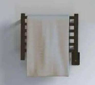 Quadro Q 2016 Matte Black Heated Towel Rack 21.125 x 18.875 (Q2016MB)
