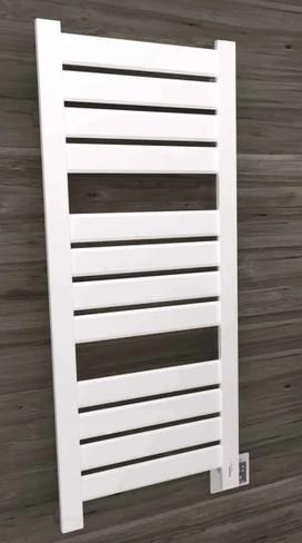 Vega V2356 White Heated Towel Rack 26.25 x 59.875 (V2356W)