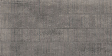 Concrete Masonry Rebar Grey Porcelain Deco 16x32