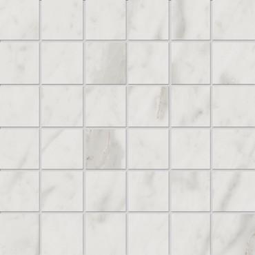 Velvet White Matte Porcelain Mosaic 2x2 (NA77)