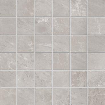 Velvet Grey Matte Porcelain Mosaic 2x2 (NA76)