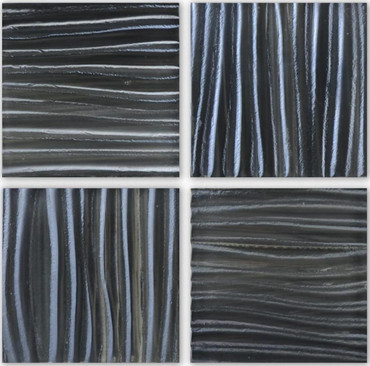 Tidal Wave Breaker 3x3 Decorative Glass Mosaic 12x12 (TW-3394)