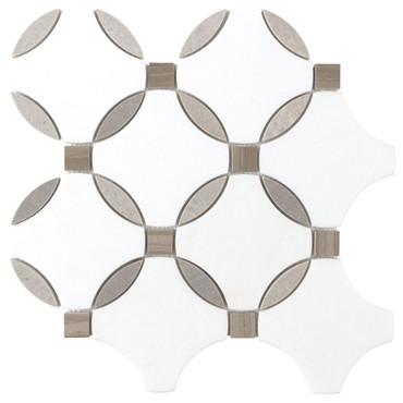 Panache Bavarian Lace Mosaic 12x13 Sheet (ANTHPABL)