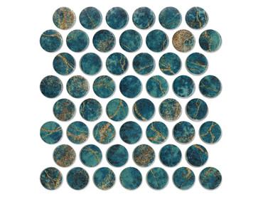 Artista Gaudi Glass Penny Round (ARTIGAUDIPR)