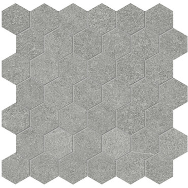 Mjork Mica Matte Porcelain 2 in. Hex Mosaic (4501-0380-0)
