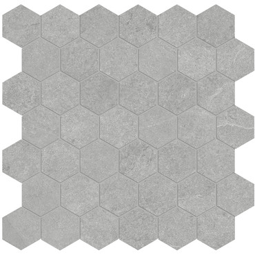 Nord Lithium Matte Porcelain 2 in. Hex Mosaic (4501-0391-0)