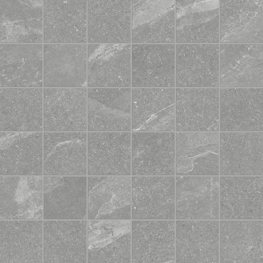 Nord Palladium Matte Porcelain Mosaic 2x2 (4501-0396-0)