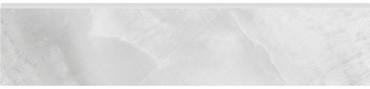 Plata Onyx Crystallo Matte Porcelain Bullnose 3x12 (4502-0313-0)
