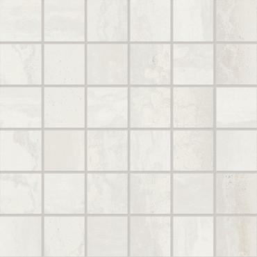Metallica Steel White Natural Mosaic 2x2 (EJDD)