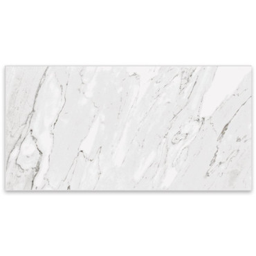 Marbles Carrara White Matte Porcelain 24x48 (1102328)