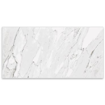 Marbles Carrara White Polished Porcelain 24x48 (1102333)