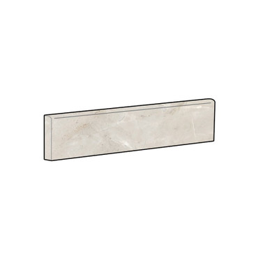 Marbles Oniciata Ivory Matte Bullnose 3x12 (1102349)