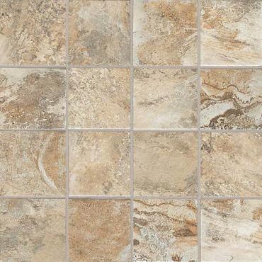 Kendal Slate Ambleside Beige Mosaic 3X3
