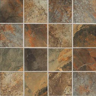 Kendal Slate Carlisle Black Mosaic 3X3