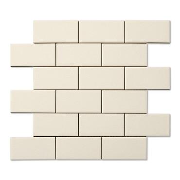 Hampton Bone Flat Mosaic 2X4 (ADXADHBQ824)