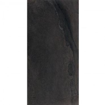 "Stone Project Black 12X24""  Cross Cut Natural"