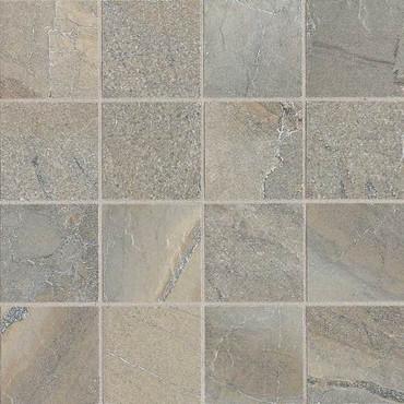"""Ayers Rock - Majestic Mound Mosaic 3"""" x 3"""" On 13-1/8"""" x 13-1/8"""" Sheet"""