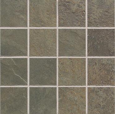 Continental Slate - Brazillian Green 3x3 Mosaic