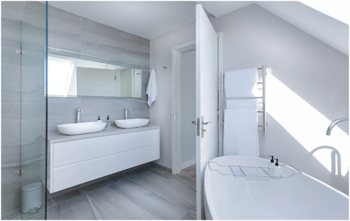 Attractive Porcelain Bathroom Tile Options