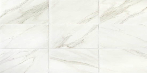 Mirasol Bianco Carrara 12x24 Floor Tile