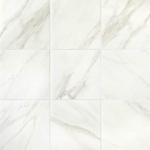 Mirasol Bianco Carrara 24x24 Floor Tile