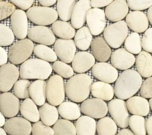 Timor White Pebbles 12X12