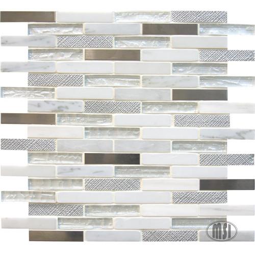 Ocean Crest Brick Mosaic 5/8x3