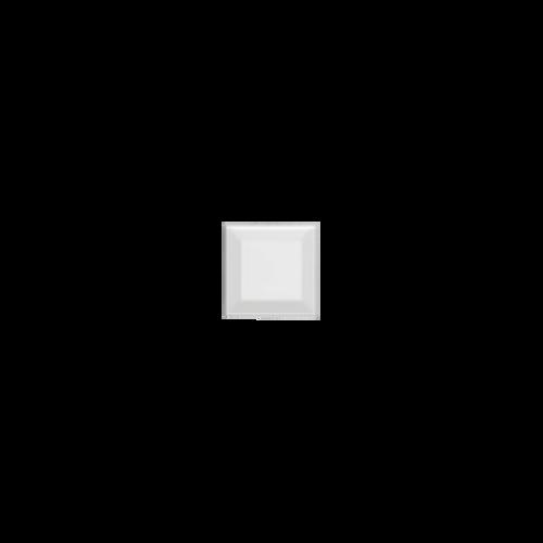 Neri White 3x3 Beveled 2 Glazed Edges