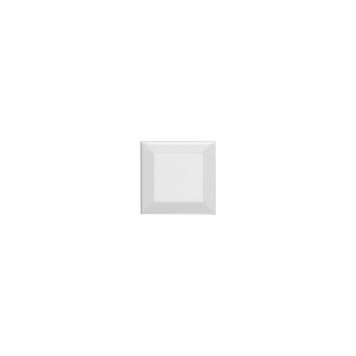 Neri White 4x4 Beveled 2 Glazed Edges