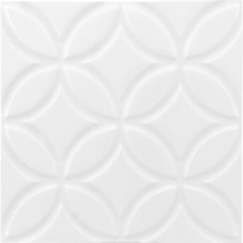 Neri White 6x6 Botanical Deco