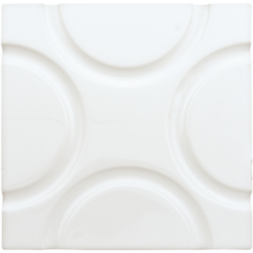 Neri White 6x6 Geo Deco