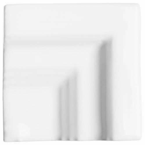 Neri White Chair Molding Frame Corner for 2x8