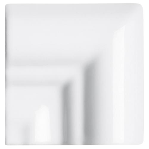 Neri White Rail Molding Frame Corner