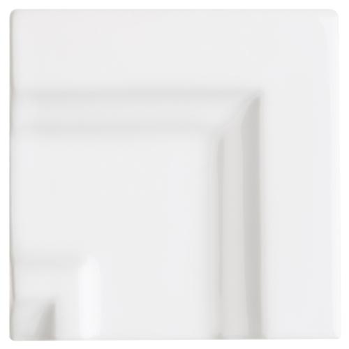 Neri White Crown Molding Frame Corner for 2.8 x 12