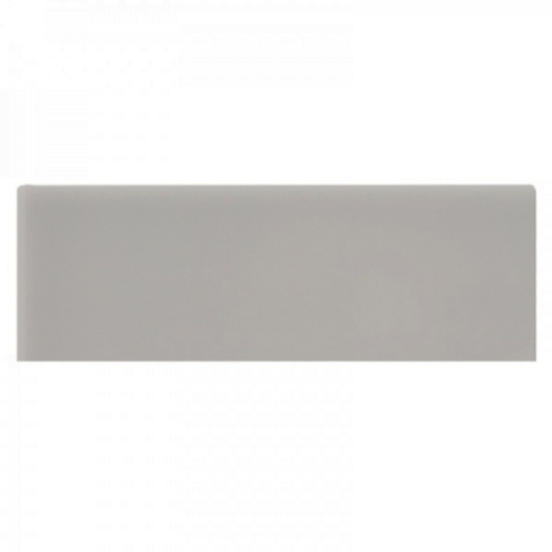 Neri Silver Mist Bullnose 2x6