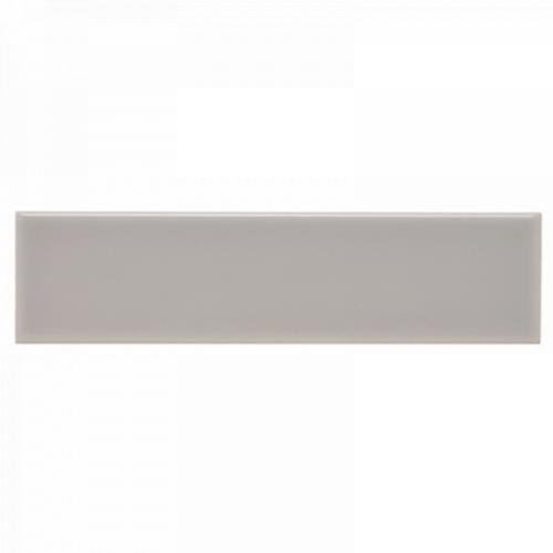 Neri Silver Mist Bullnose 2x8