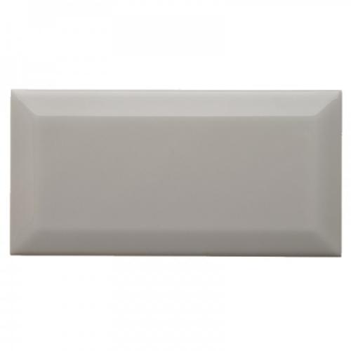 "Neri Silver Mist 4x8 Beveled Glazed Edge 4"""