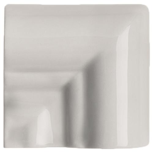 Neri Silver Mist Rail Molding Frame Corner