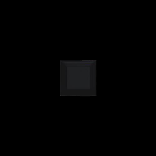 Neri Black 3x3 Beveled 2 Glazed Edges