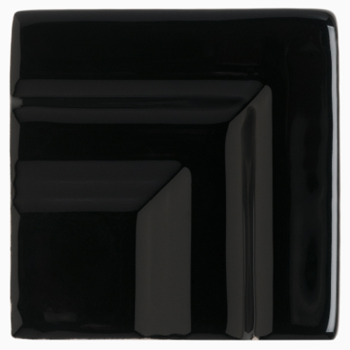 Neri Black Crown Molding Frame Corner For 2.8 x 12