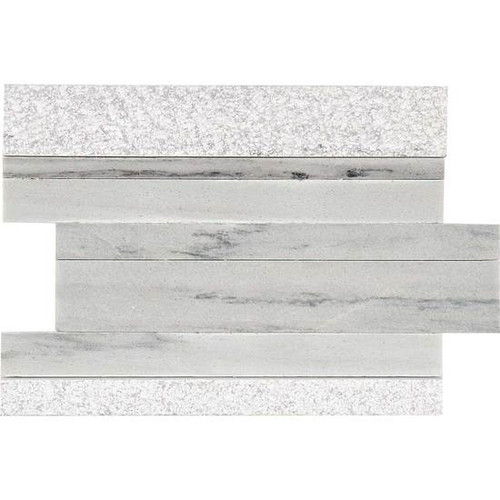 Ascend Candid Heather Mixed Finishes 9 X 12 Modern Stack Stone
