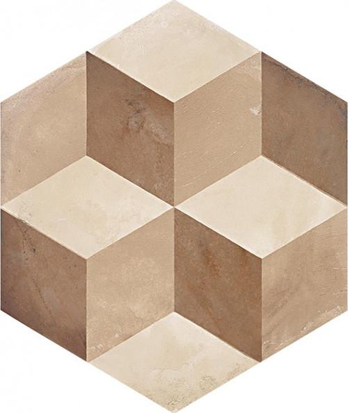 "Marca Corona Terra Cubo Deco C 8"" Hex"