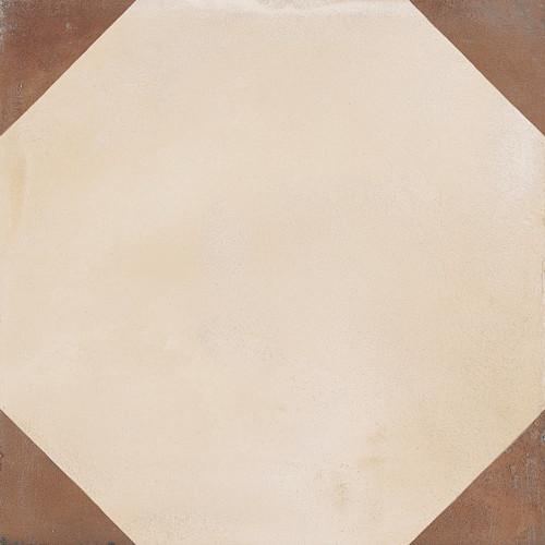 Marca Corona Terra Ottagono Deco C 8X8