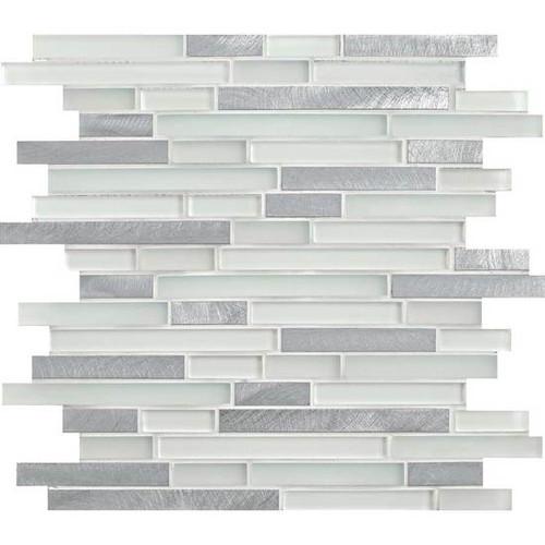 "Morello Quartz 5/8"" x Random Mosaic"