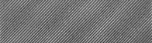 Refined Metals Gunmetal 2x8 Linear Wave Gloss