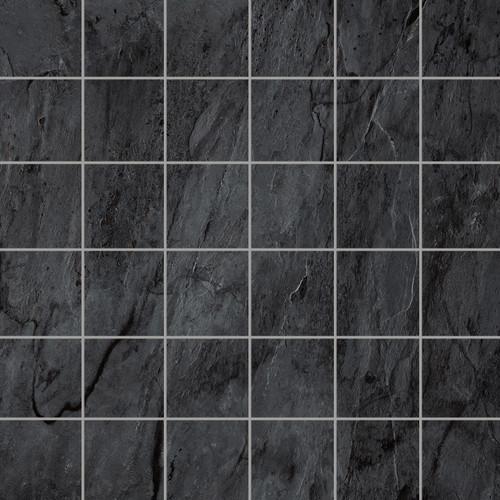Renova Black 2x2 Mosaic