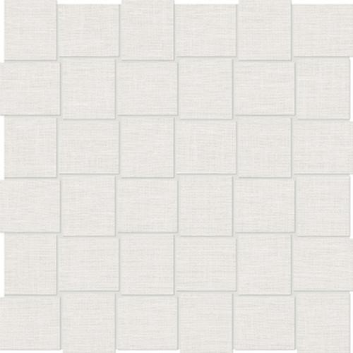 Belgian Linen Ivory Basketweave HD Mosaics 2x2