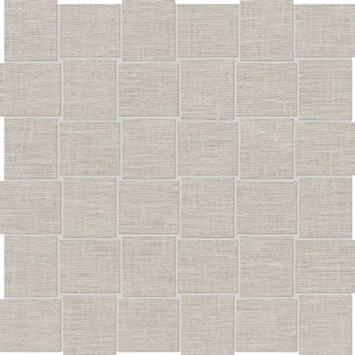 Belgian Linen Natural Basketweave HD Mosaics 2x2