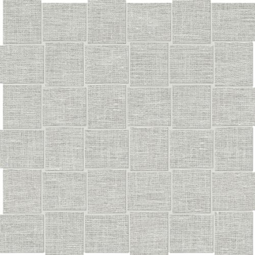 Belgian Linen Mist Basketweave HD Mosaics 2x2