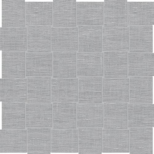Belgian Linen Mica Basketweave HD Mosaics 2x2